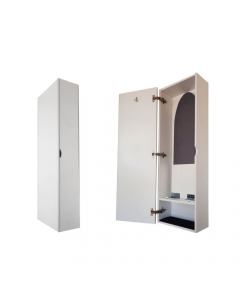 SpaceSave Wall Mounted Folding Cupboard with Ironing Board