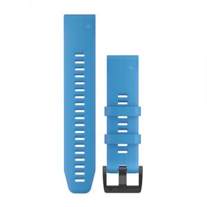 Garmin QuickFit 22mm Cyan Blue Silicone Band