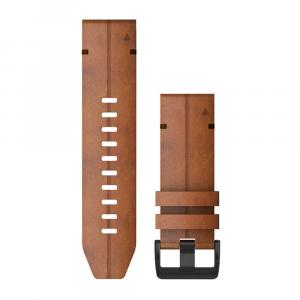 Garmin QuickFit® 26mm Chestnut Leather Watch Band