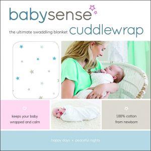 Baby Sense Cuddlewrap - Blue