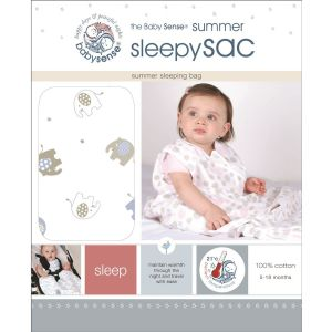 Baby Sense Summer Sleepy Sac - Blue