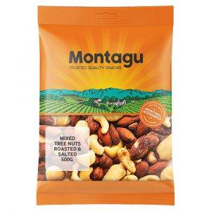 Montagu Mixed Nuts Roasted & Salted 500g
