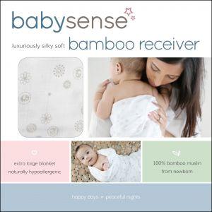 Baby Sense Bamboo Receiver - Grey