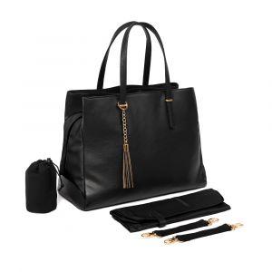Baby Sense Mom & Baby Handbag - Melaine Black
