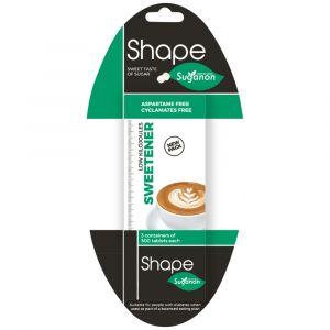 Shape-Suganon Low Kilojoules Sweetener Tablets (3x500's)