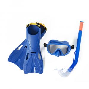 Bestway Hydro-Swim Lil' Flapper Snorkel Set-Blue