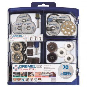 Dremel EZ Speedclic 70 Piece Multipurpose Accessory Set