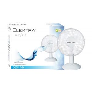 """Elektra Comfort Desk Fan 12"""""""