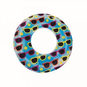 Bestway 76cm Designer Swim Ring - Blue