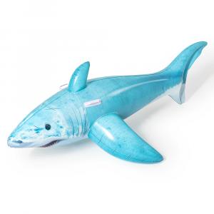 Bestway 1.83m x 1.02m Realistic Shark Ride-On
