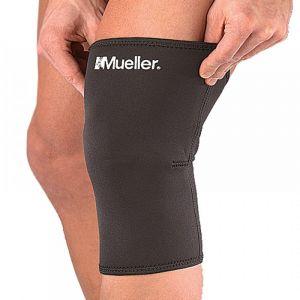 Mueller Knee Sleeve Closed Patella Black Large