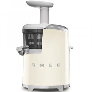 Smeg Cream Retro Style Slow Juicer - SJF01CREU
