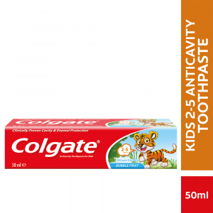 Colgate Kids 2-5 Years Toothpaste Bubble Fruit - 50ml