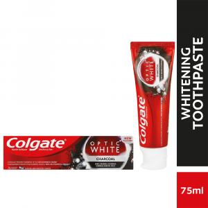 Colgate Optic White Charcoal Whitening Toothpaste - 75ml