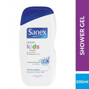 Sanex Dermo Kids Bath and Shower Gel - 500ml