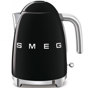 Smeg Black 1.7L Retro Style Kettle - KLF03BLSA