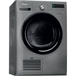 Whirlpool 8kg Silver Condensor Tumble Dryer  - DDLX80115