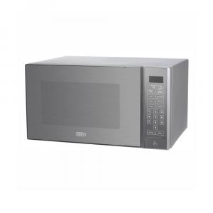 Defy 30L Mirror Glass Silver Fin Microwave - DMO390