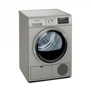 Siemens 8kg Inox Condenser Dryer - WT46G40SZA
