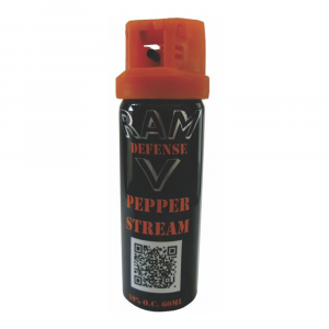 RAM Defense Pepper Stream 60ml - Shrink Wrap