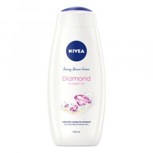 NIVEA Diamond & Argan Oil Shower Gel / Body Wash - 500ml