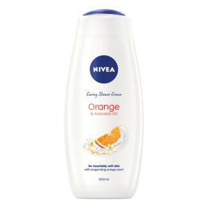 NIVEA Orange & Avocado Oil Shower Cream / Body Wash - 500ml