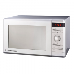 Russell Hobbs Electric Microwave Oven Silver Mirror Finish 36L