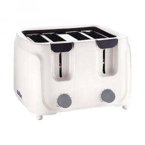 Salton Cool Touch 4 Slice Toaster ST4S-09  White