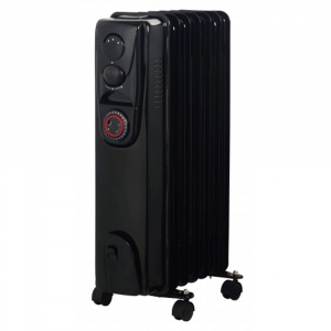 Alva 7 Fins 1500W Oil Filled Heater – With Timer