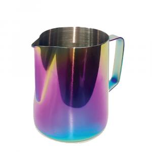 Brewtool Frothing Jug 600ml - Rainbow