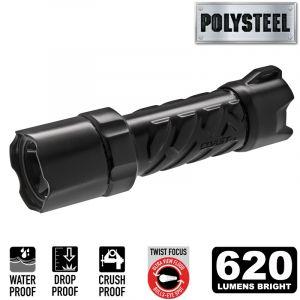 Coast Polysteel 600 Focusing LED Flashlight - Clam