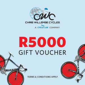 Chris Willemse Cycles R5000 Gift Voucher