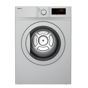 Hisense 8kg Silver Tumble Dryer - DVDL80S