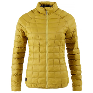 First Ascent Ladies Aeroloft Jacket Chartreuse Yellow