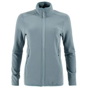 First Ascent Ladies Stormfleece Jacket Silver Pine