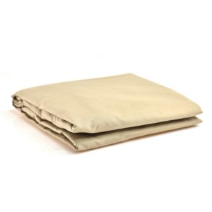 Cabbage Creek Standard Cot Fitted Sheet - Natural