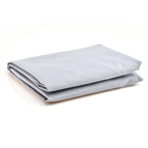 Cabbage Creek Standard Cot Fitted Sheet - Grey