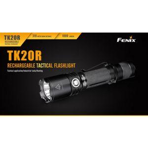 Fenix LED Falshlight TK20R - 1000 Lumens, 310M beam distance, Micro USB charge