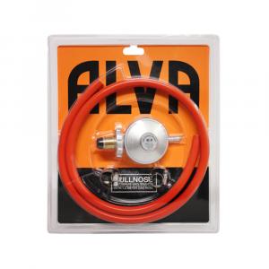 Alva Bullnose Regulator & Hose Blister Pack