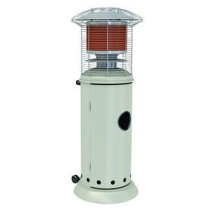Alva Short Stand Gas Patio Heater (Metal With Powder Coating)