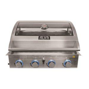 Alva Mojave 4 Burner S/S Build-in BBQ