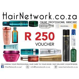 Hair Network Voucher R 250.00