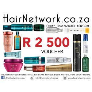 Hair Network Voucher R 2500.00