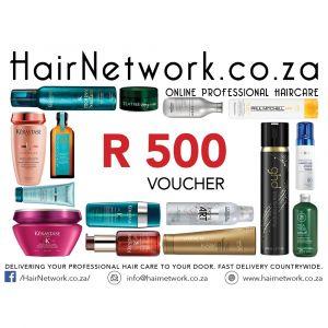 Hair Network Voucher R 500.00