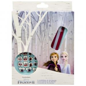 Disney Frozen 2 - 3 Bracelets With 18 Charms