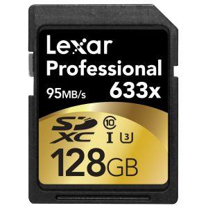 Lexar 128GB Professional SD 633x 95MB/s (Class 10, UHS-1)
