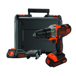 Black + Decker 18V Multi-Tool Starter Kit with Drill Driver Head + Extra Battery (1.5Ah)