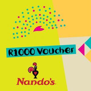 Nando's R1000 Voucher