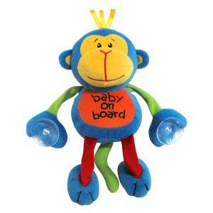 Snookums Baby On Board - Monkey