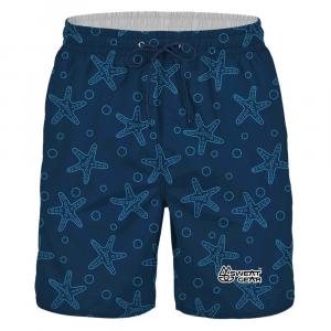 SweatGear Ochre Sea Star Boys Boardshorts